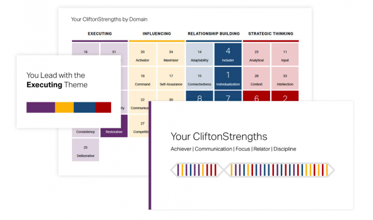 Strengthsfinder CliftonStrengths